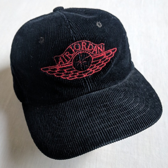 93061f381b4 Jordan Other - RARE Air Jordan wing corduroy trucker hat vintage